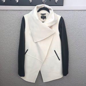 Mackage Shea Wool and leather Jacket Coat